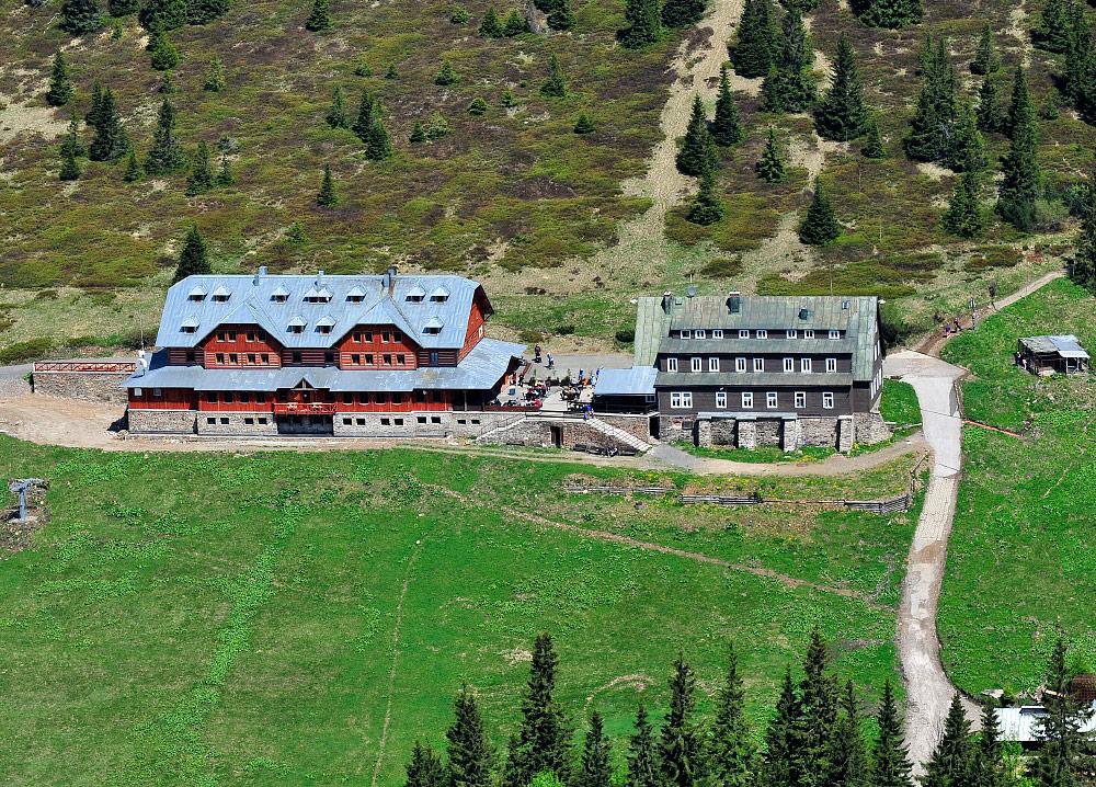 Berghotel Dvoračky in Nationaal Park Krkonoše