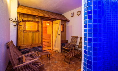 Sauna for your relaxation